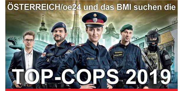Wer wird Top-Cop 2019? - Das Voting beginnt!