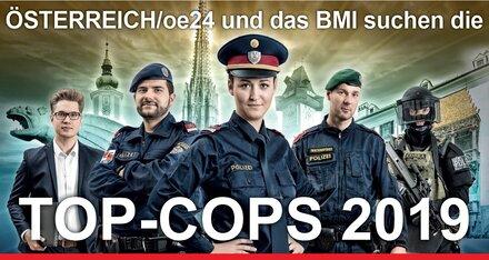 Nominieren Sie jetzt Ihre Top-Cops 2019