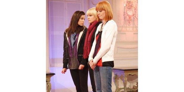 Gleich drei Models flogen aus der Show