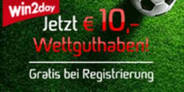 Anzeige: € 10,- Wettguthaben gratis!