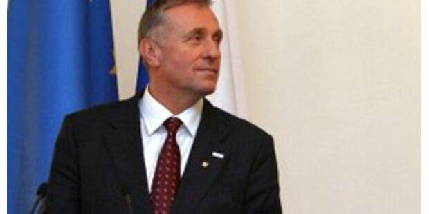 Tschechischer Premier bildet Regierung um