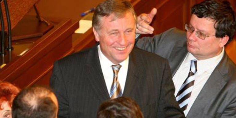 Tschechiens Premier Topolanek