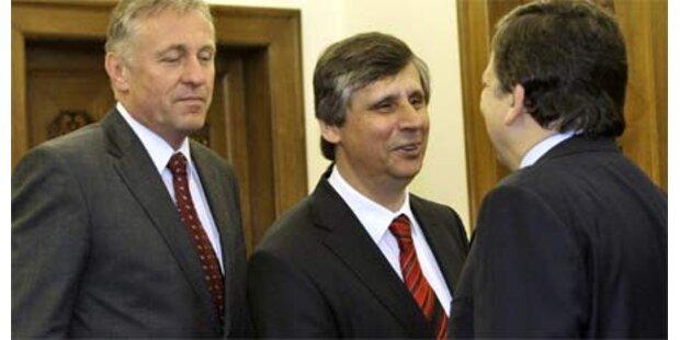 Tschechische Übergangsregierung angelobt