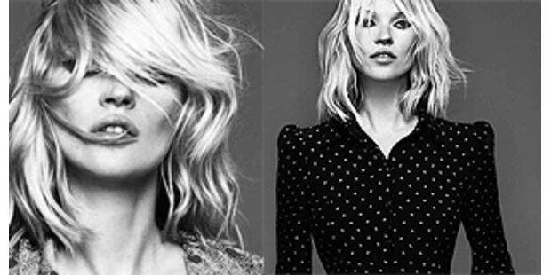Kate Moss präsentiert ihre Weihnachts-Kollektion