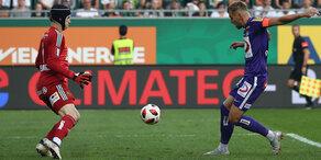 Austria Wien gewinnt hitziges Derby gegen Rapid