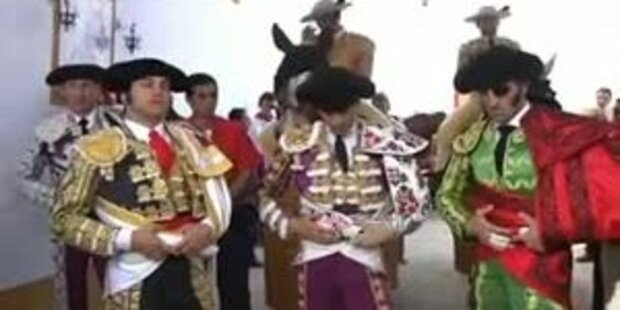 Torero feiert Comeback mit einem Auge