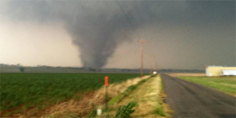Neue Todes-Tornados in den USA