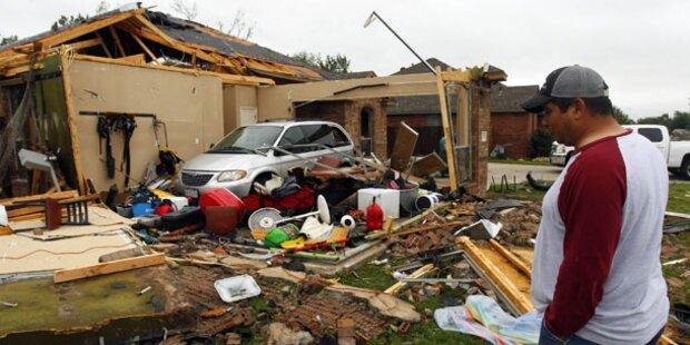 Tornadoserie in Texas - Sechs Tote