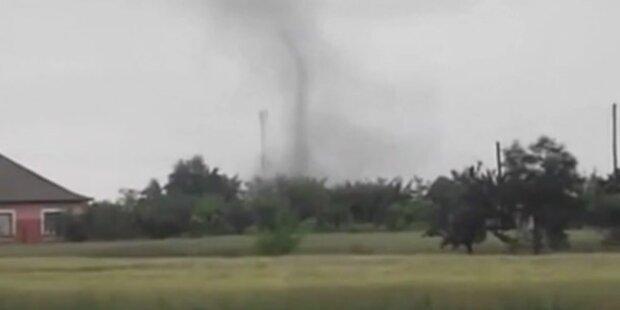 Tornado wütete in Ungarn