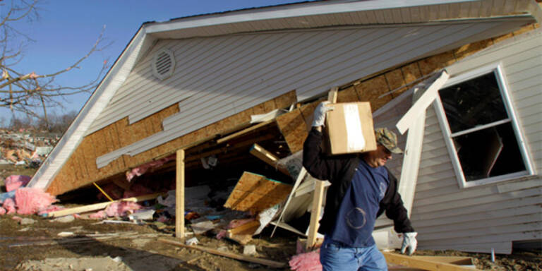 Tornado-Serie bringt Tod und Zerstörung