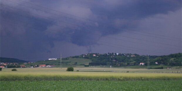 Tornado fegte über Wien