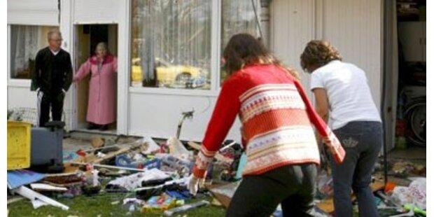 Tornado verwüstet Norditalien