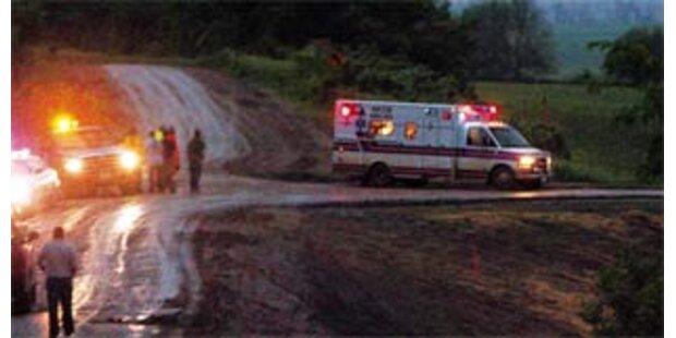 Tornado tötet vier Pfadfinder in den USA