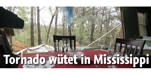 10 Tote: Tornado wütet in Mississippi