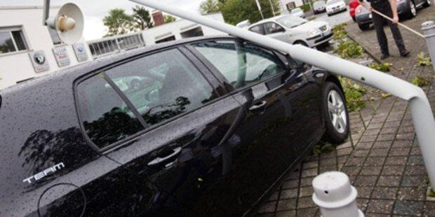 Deutschland: Tornado sorgt für Chaos