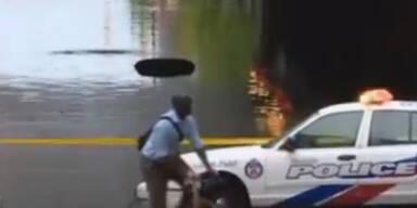 Toronto: Massive Flut legt ganze Stadt lahm