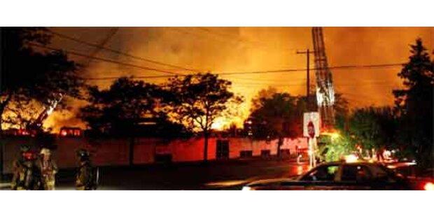 Propangas-Explosion erschüttert Toronto