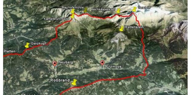 Kletterer stirbt nach Sturz im Pongau