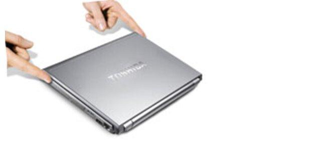 Toshiba bringt ultraleichte UMTS-Notebooks