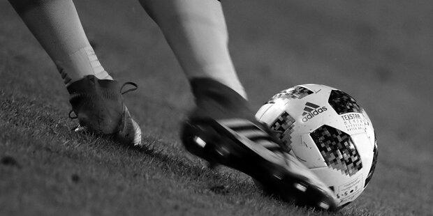 Trauer um verstorbenen Fußballer