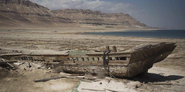 Mega-Kanal soll Totes Meer retten