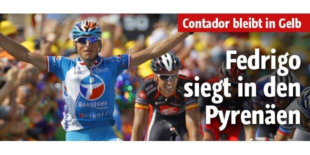Kein Umsturz in Pyrenäen - Fedrigo siegt