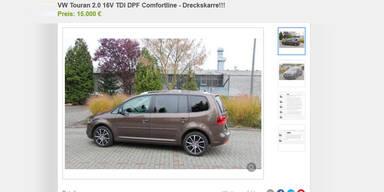"""""""Dreckskarre"""": Auto-Inserat wird Internet-Hit"""