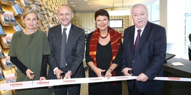Zentrale Tourist-Info Wien wiedereröffnet