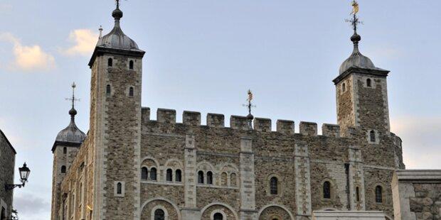 Dieb brach in den Tower of London ein