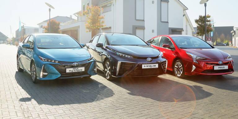 Toyota hat schon 55 Prozent Hybridanteil