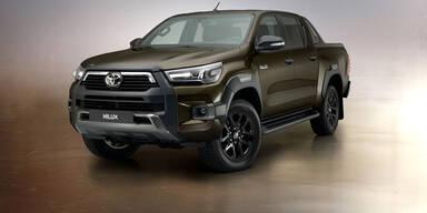 Toyota Hilux mit mehr Leistung und neuer Technik
