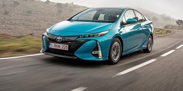Toyota dank Hybrid im Höhenflug