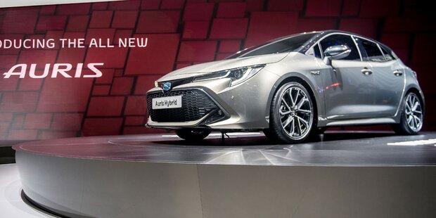 Toyota zeigt den völlig neuen Auris