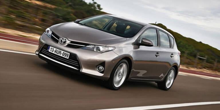 Toyota bleibt größter Autohersteller