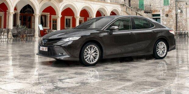 Toyota Camry ist zurück in Österreich