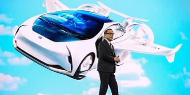 Toyota setzt auf 320 km/h schnelle E-Flugtaxis