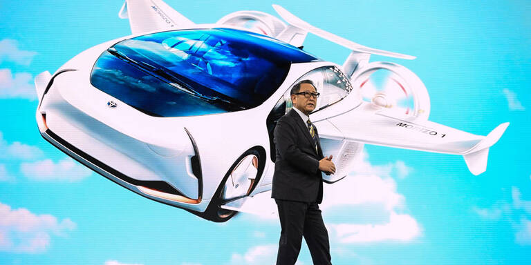 Toyota baut eigene Stadt der Zukunft