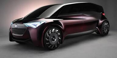 Toyota zeigt smartes Brennstoffzellenauto
