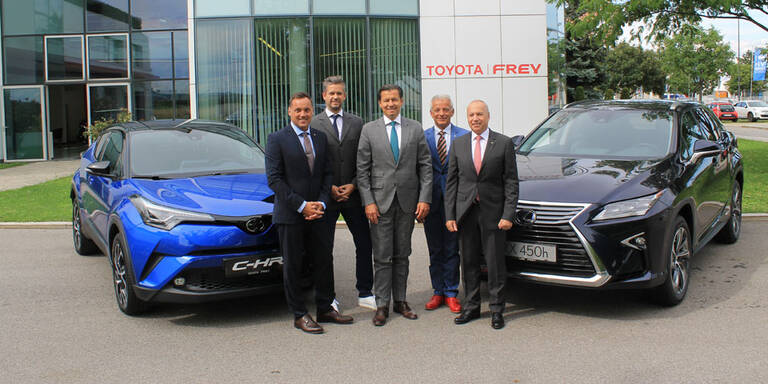 Frey verkauft Import-Firma an Toyota