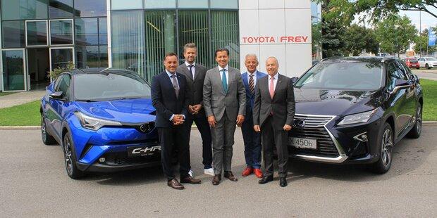 Hybridanteil von Toyota bei uns über 50 Prozent