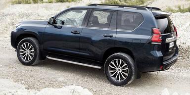 Facelift für den Toyota Land Cruiser