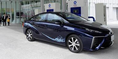 Toyota glaubt fest an die Brennstoffzelle