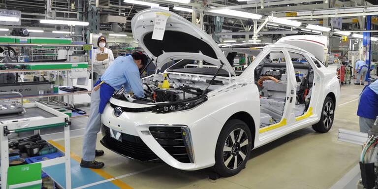 Toyota war 2019 zweitgrößter Autobauer