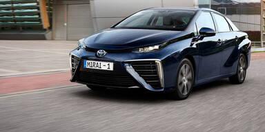 Toyota stockt Produktion des Mirai auf