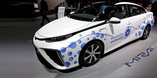 Autobauer forcieren Wasserstoff-Antrieb