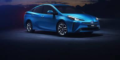 Toyota verpasst dem Prius ein Facelift