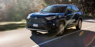 Neuer Toyota RAV 4 startet in Österreich