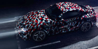 Erste Fotos der neuen Toyota Supra