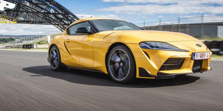 Neuer Toyota Supra endlich in Österreich