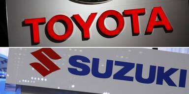 Toyota und Suzuki fixieren Partnerschaft